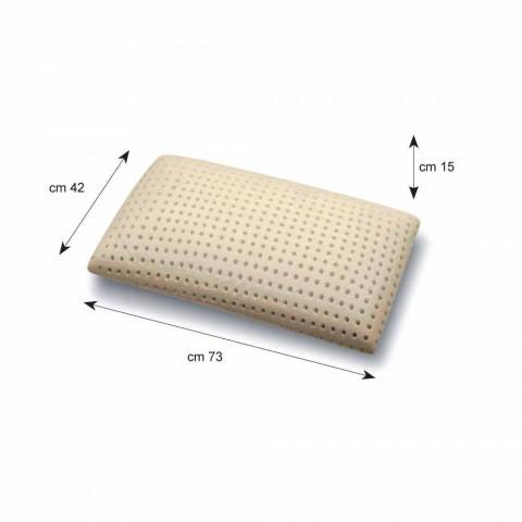 2 jastekë hipoallergjike dhe të frymëmarrjes në Memory Foam Memory 5 Zona