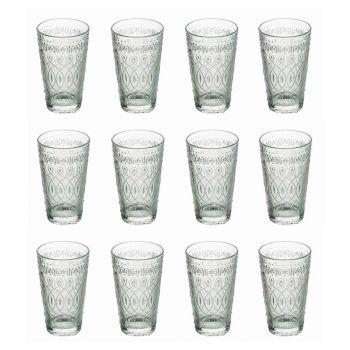 12 gota pije qelqi të dekoruara për pije - marokobike