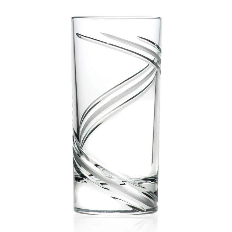 12 gota kokteje të larta me gumëzhitje në kristal ekologjik italian - ciklon