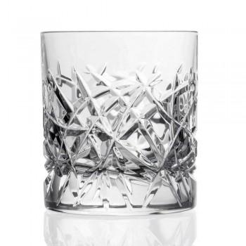 12 gota të cilësisë së mirë Dof për ujë ose dizajn uiski në kristal - titan