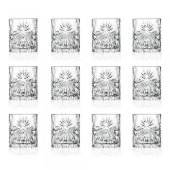 12 gota me dy gishta të modës së vjetër në modelin e kristalit eko - Daniele