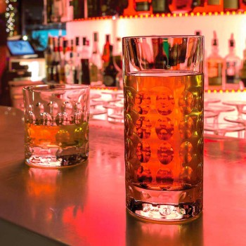 12 gota Highball për pije të buta ose pije të gjata në Eco Crystal - Titanioball