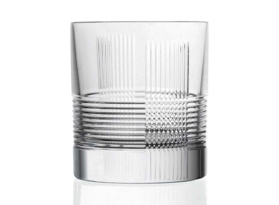 12 gota për ujë ose dizajn të cilësisë së mirë uiski në kristal të zbukuruar - i prekshëm