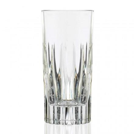 12 gota me gotë të gjatë për pirje të gjatë në kristal ekologjik - Voglia