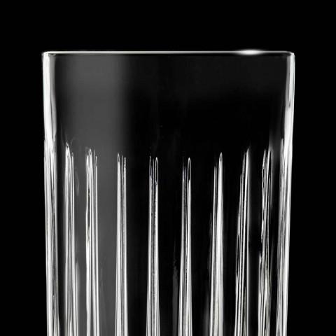12 gota gumëzhitje me lartësi të lartë në kristal të dekoruar eko - Senzatempo