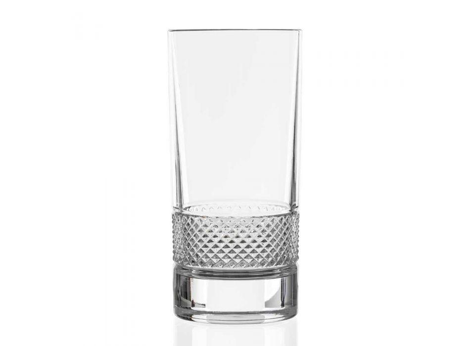 12 gota të larta gumëzhitëse në kristal ekologjik të zbukuruar luksoz - Milito