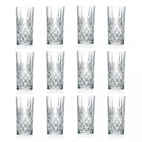 12 gota gumëzhitje Alto Highball për koktej në Eco Crystal - Cantabile