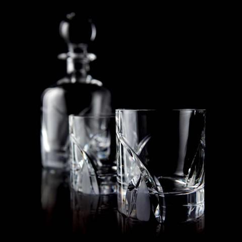 12 gota me gumëzhitje të ulët në dizajnin luksoz të kristalit Eco - Montecristo