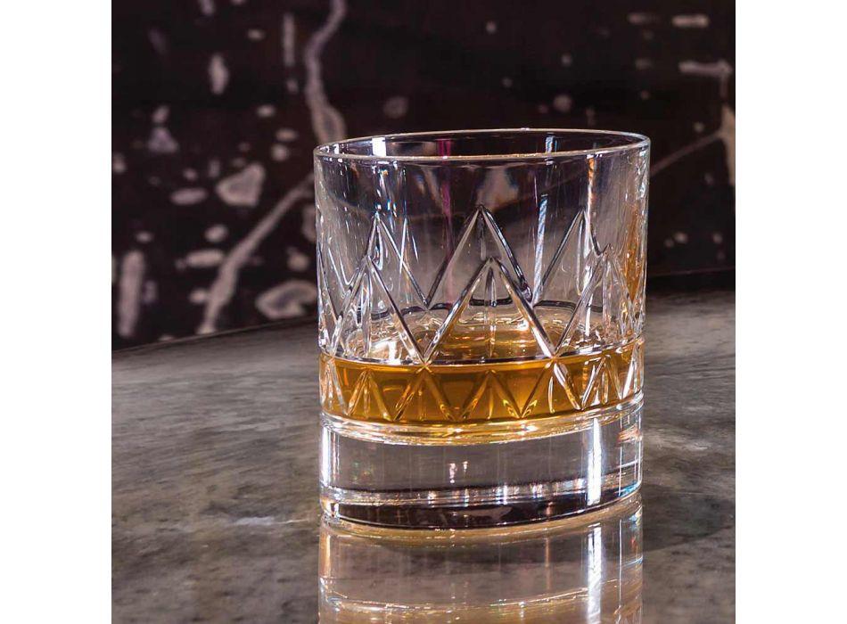 12 Uiski qelqi ose Dizajn Luksoz Uji luksoz në kristal - aritmi