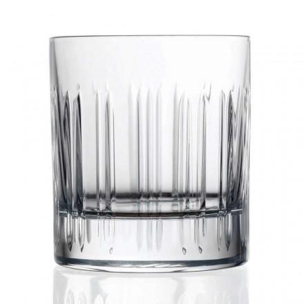 12 gota uji uiski ose kristali me dekor linear luksoz - aritmi