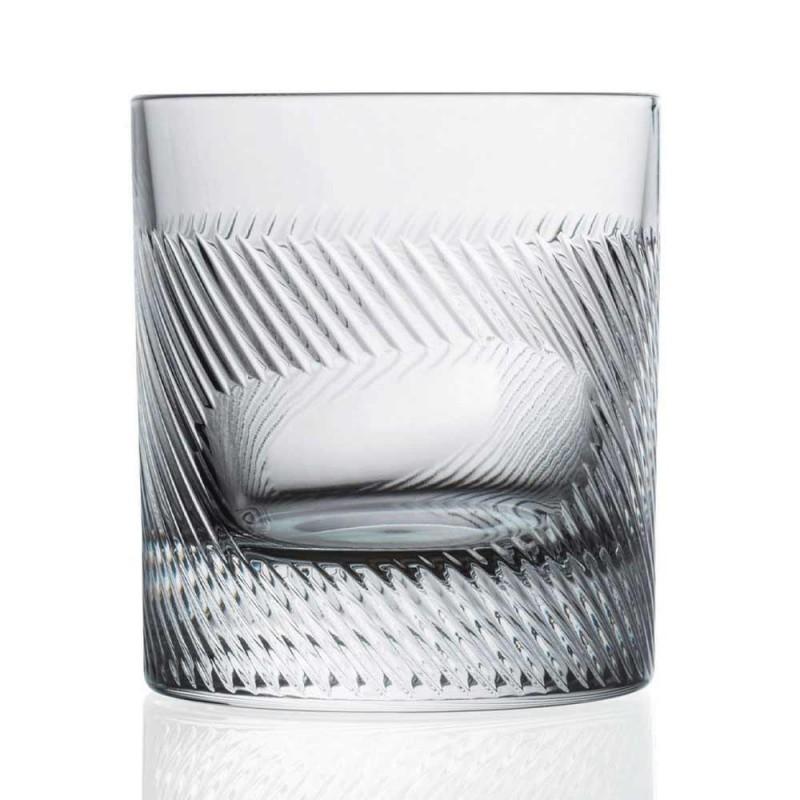 12 gota uiski ose uji në dizajn të cilësisë së mirë të dekoruar me kristal Eco - i prekshëm