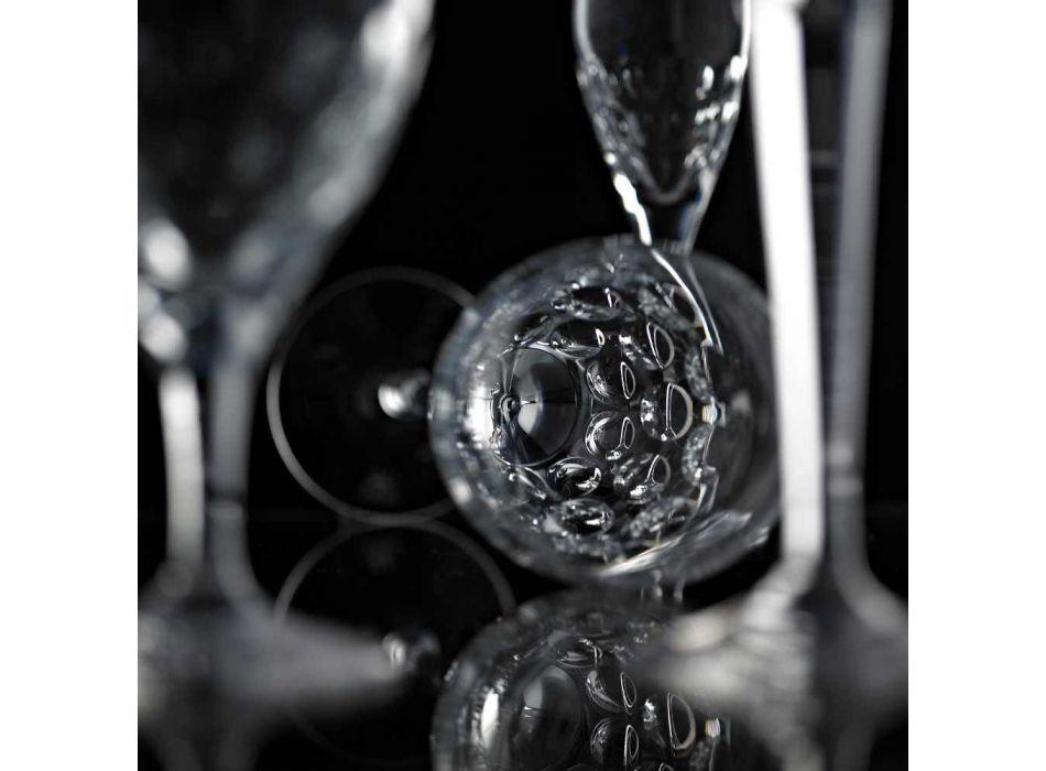 12 gota birre në model luksoz të dekoruar me kristal ekologjik - Titanioball