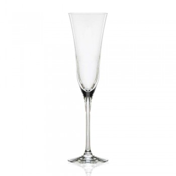 12 gota flaute në modelin minimal të kristalit luksoz ekologjik - të lëmuara