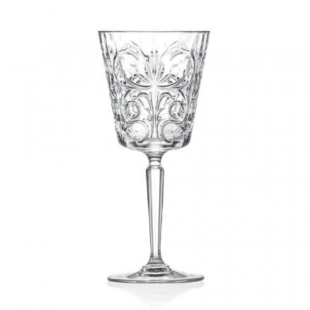 12 gota për ujë, pije ose dizajn koktejsh në dekoruar eko kristal - Destino