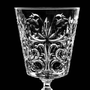 12 gota për ujë, pije ose dizajn koktejsh në dekoruar Eco Crystal - Destino