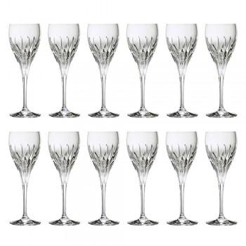 12 gota vere të bardha të dekoruara me dorë në kristal luksoz ekologjik - Voglia