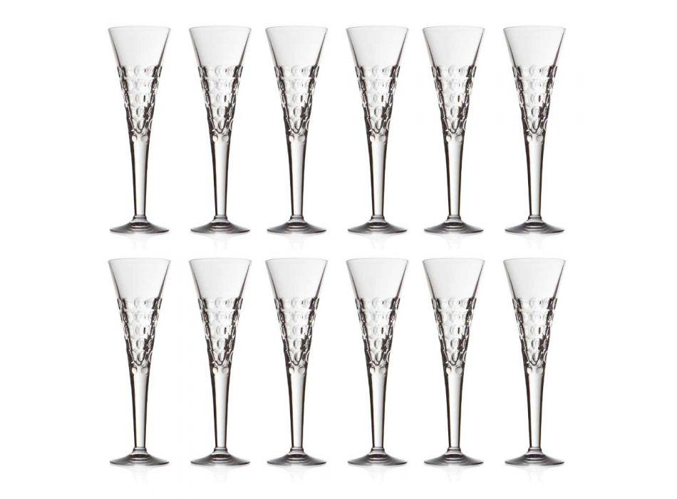 12 gota vere gota fluturash për flluska kristali - Titanioball