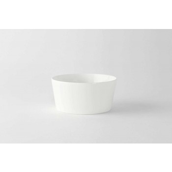 12 Akullore me Porcelan të Bardhë me Dizajn Moderne ose Kupat e Frutave - Egle