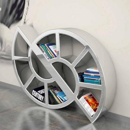 Veshmbathje moderne Librari me sipërfaqe të ngurta Nicol, i punuar me dorë në Itali