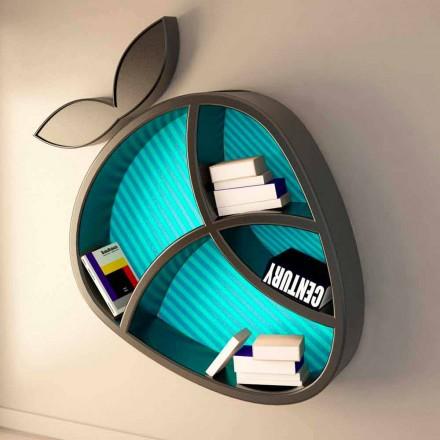 Dizajn modern rafti Poppy Book Viadurini Design Made in Italy