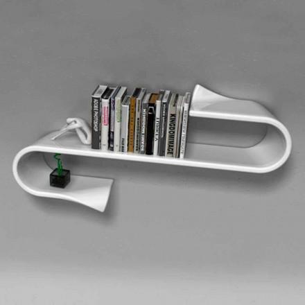 Dizajner modern i raftit Waveshelf Viadurini Design Made in Italy