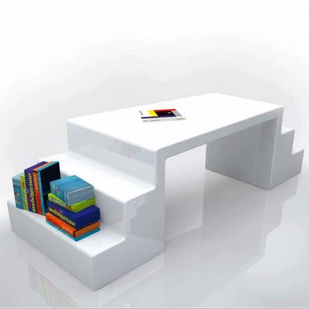 Tavolina zyre moderne e projektimit Abbott, e disponueshme në të bardhë, jeshile ose moka