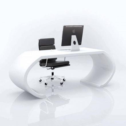 Tavolinë zyre Adid i Solid Surface me dizajn modern, i punuar me dorë në Itali