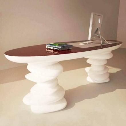 Tavolina zyre moderne e dizajnit Aldington, e punuar me dorë në Itali