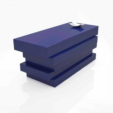 Tavolinë zyre e modës Solid Surface me dizajn modern Alford, i punuar me dorë në Itali