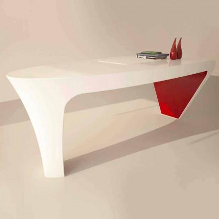 Dizajni bashkëkohor Tavolina e zyrës së ngurtë Ashe, e bërë në Itali
