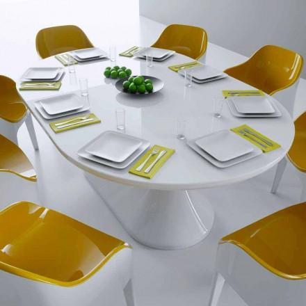 Tabela e ngrënies me dizajn modern Tabela e drekës, e bërë në Itali, dizajn italian
