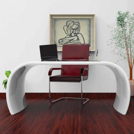 Tavolinë zyre me dizajn modern Ola, e punuar me dorë në Itali, dizajn italian
