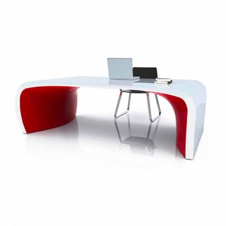 Tavolina e zyrave moderne të dizajnit Sonar, produkt i punuar me dorë i bërë në Itali