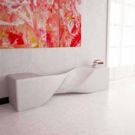 Dizajni modern stol i ngurtë Surby Bobby, i punuar me dorë në Itali