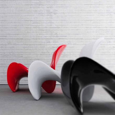 Dizajn modern kolltuk i ngurtë Sipërfaqja Forma, e bërë në Itali, e brendshme / e jashtme