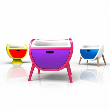 Dizajni modern Tavolina e shtratit të ngurtë Solid Sipërfaqja Gauche, e punuar me dorë në Itali