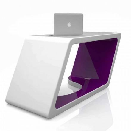 Dizajni bashkëkohor Tavolina e zyrës së ngurtë Sipërfaqja Abercrombie, e bërë në Itali