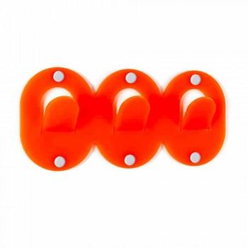 2 Varëse muri trefishe në modelin e klipit me ngjyra pleksiglas - Freddie