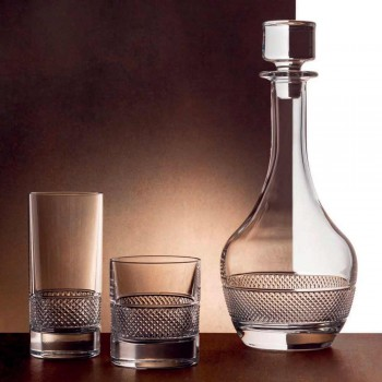 2 shishe vere me kapak kristal ekologjik me dizajn të rrumbullakët - Milito