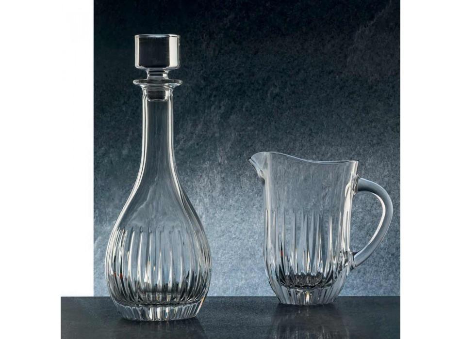 2 shishe vere lluksoze italiane - Dëshira e dorës me kristal ekologjik