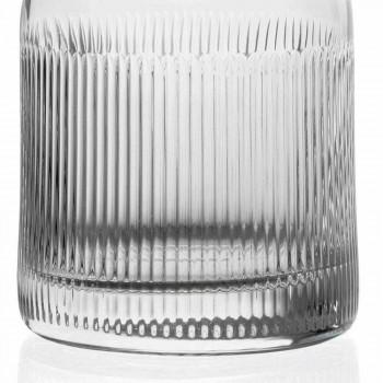 2 shishe uiski me dizajn të cilësisë së mirë kapak kristal eko-miqësor - i prekshëm