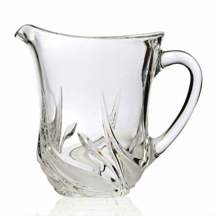 2 kana me ujë kristal ekologjik me zbukurime luksoze, prodhuar në Itali - Advent
