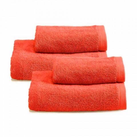 Shërbim i ngjyrosur 2 palë peshqir banjo në Pambuk Spguna - Vuitton
