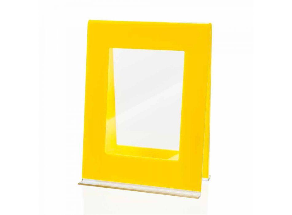 2 Kornizë fotografike me tavolinë të shumëfishtë në dizajn italian me ngjyra pleksiglas - Tarino