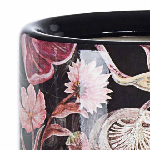 2 Mbështetëse ombrellë prej porcelani me dekal lulesh homemotion - Jolly