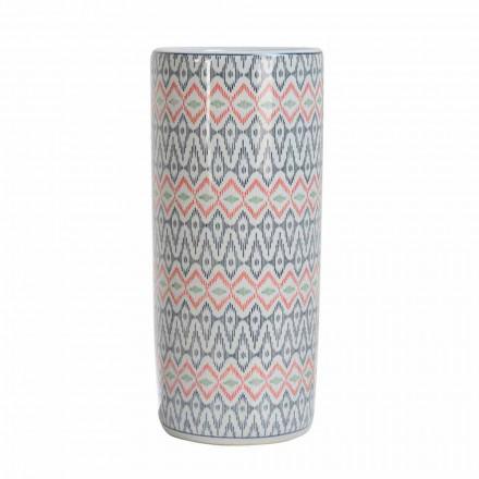 2 Mbështetëse ombrellë prej porcelani të zbukuruar me dekal Homemotion - Nando