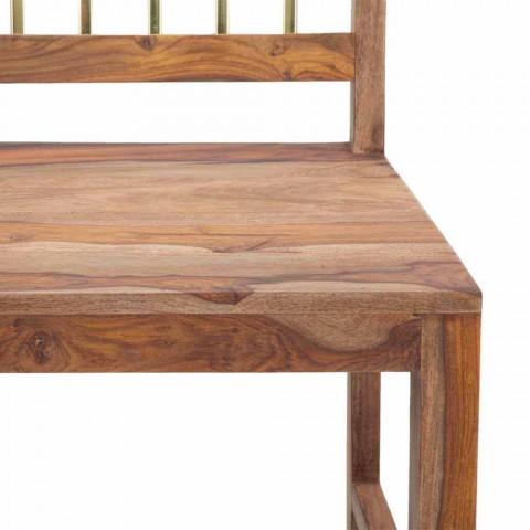 2 Karriget e kuzhinës prej druri me dizajn modern - Sandy