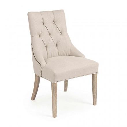2 Karrige moderne prej liri me strukturën e drurit të lisit Homemotion - Barna