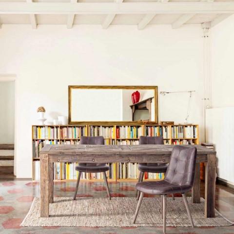 2 Karrige moderne në stilin industrial të mbuluara në Lëkura e Lëkurës - Riella