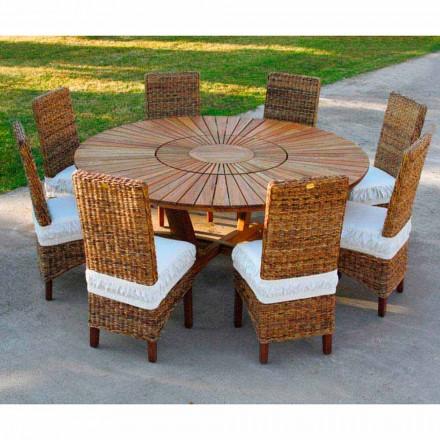Tavolinë ngrënie e rrumbullakët tryeze Real Table